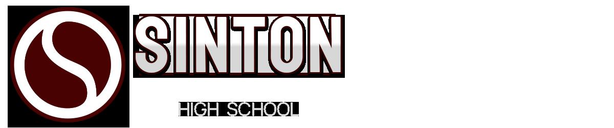 Sinton High School Logo