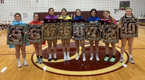 Senior 2021 Volleyball