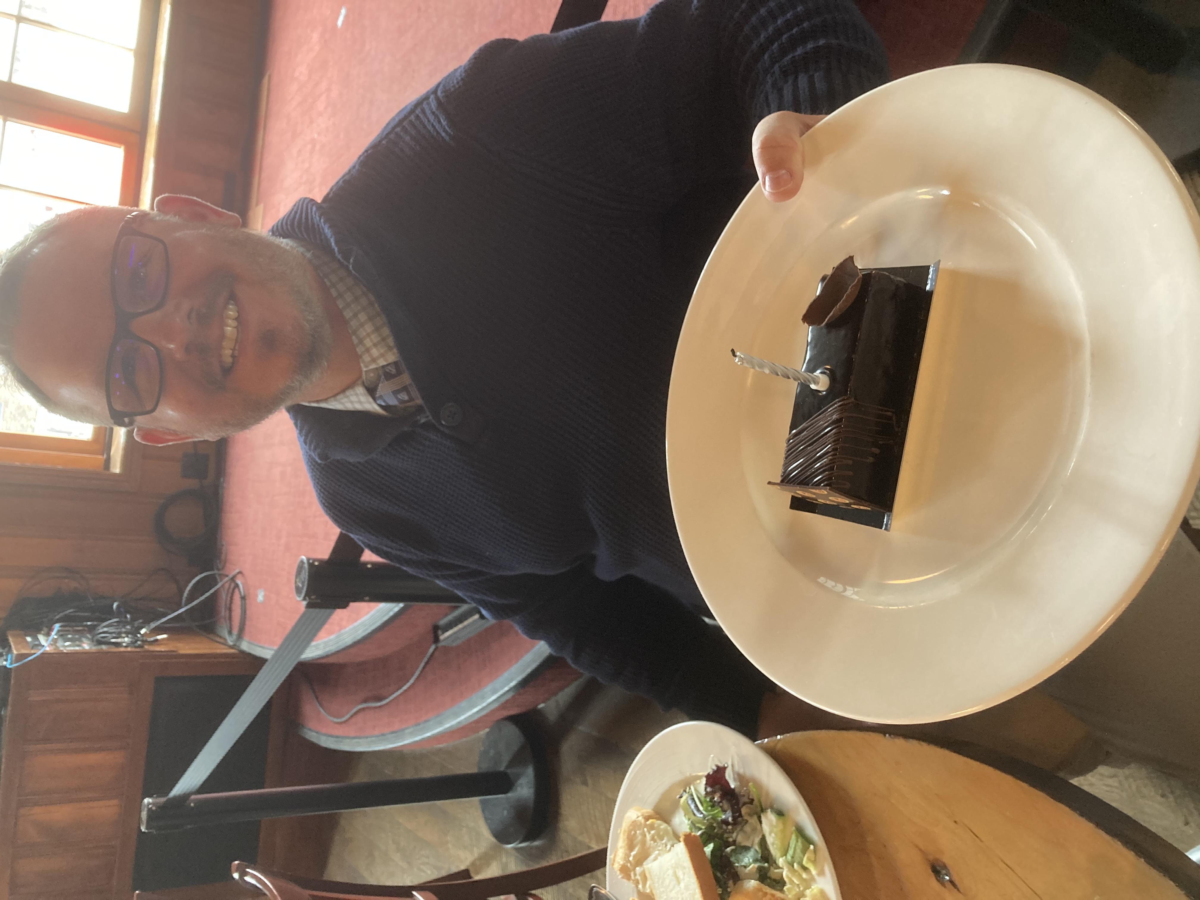 Coley Shadrick Celebrating His Birthday