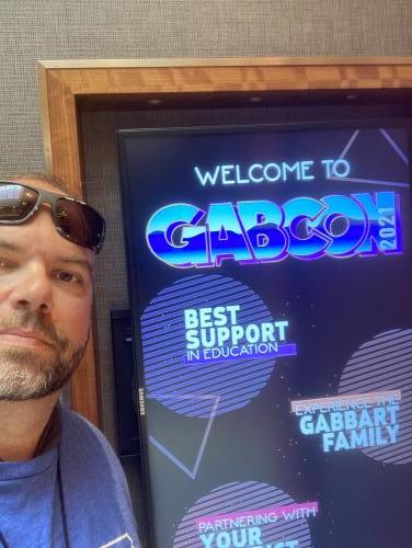 Cory Dziowgo Attends GabCon 2021