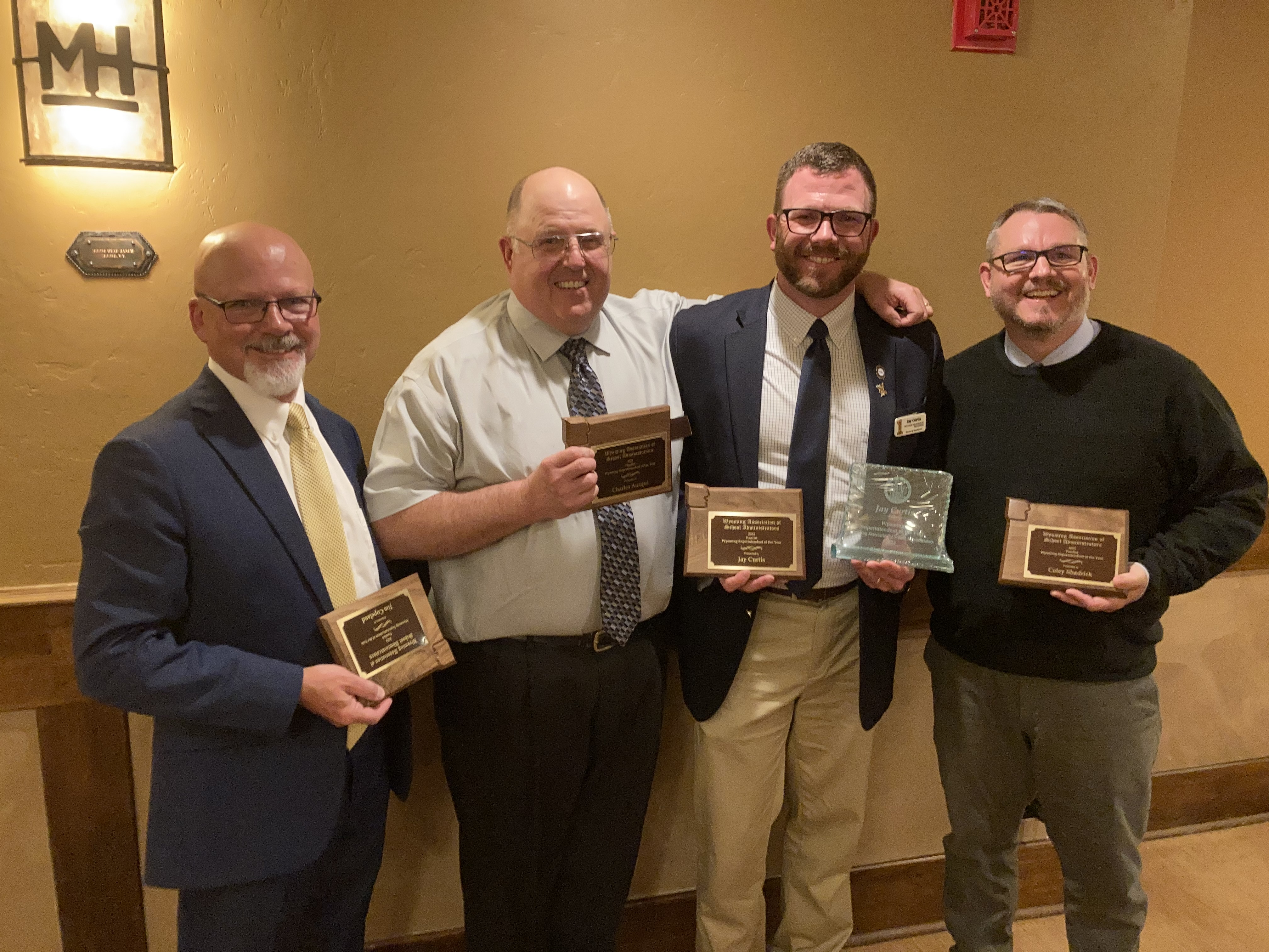 The Nominees for Superintendent of the Year