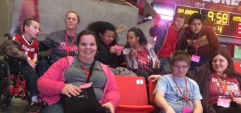 field trip to ou women's basketball game