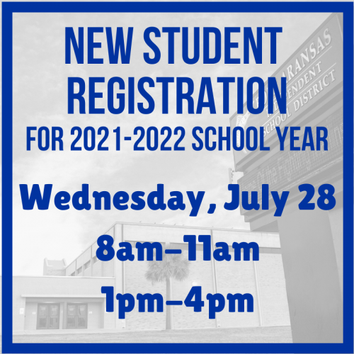 Graphic for registration. Event name, date, and time of event.