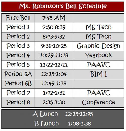 Waskom Independent School District - Daily Schedule