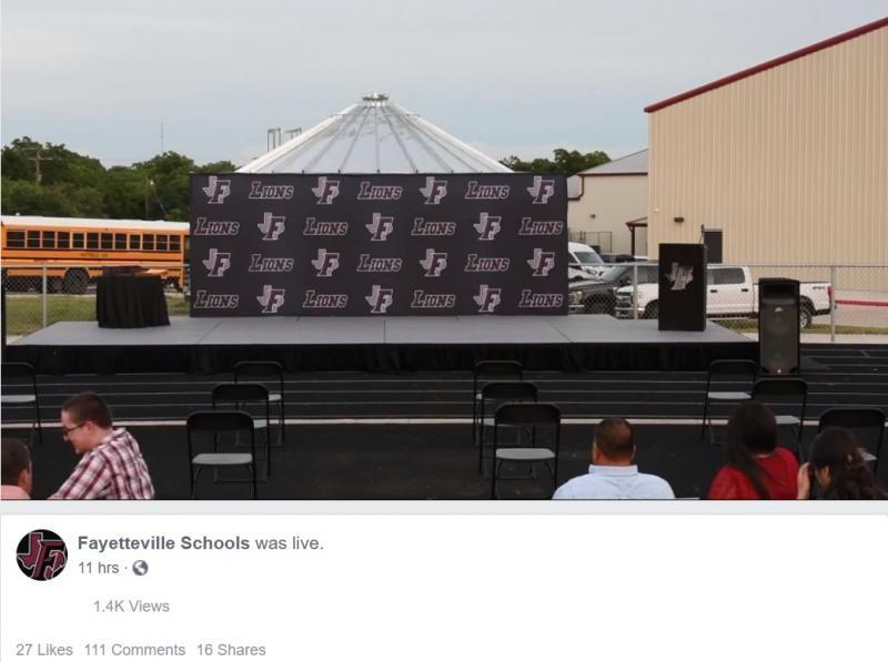 2020 Facebook Live FISD Graduation