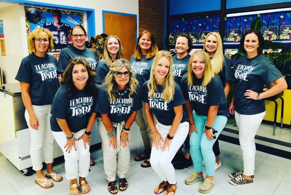 Elementary teachers ready for the 1st day