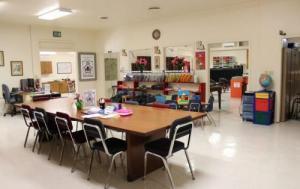 Inside of Parent Center