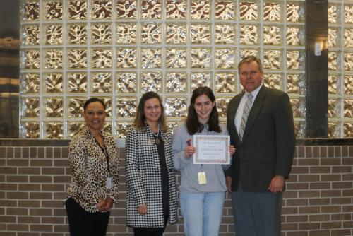 High School Student of the Year - Madeline Futch, Jennings High School