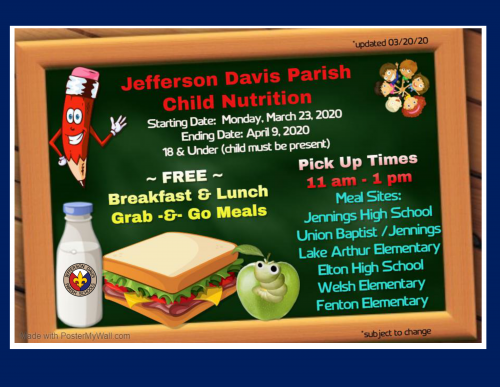 Jefferson Davis Parish Child Nutrition