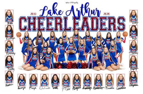 2019-2020 LAHS Cheerleaders