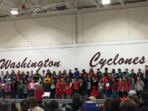 Here is our 6th grade students performing for the 2019 Christmas Program!