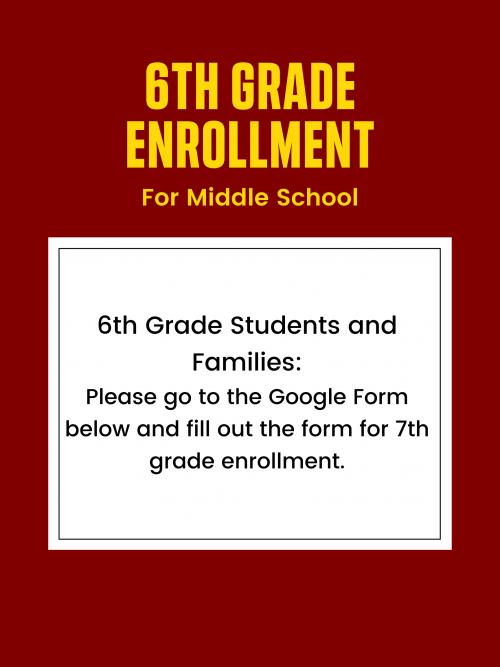 enrollment announcement 2