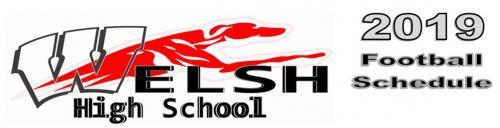 Welsh High School Football Logo