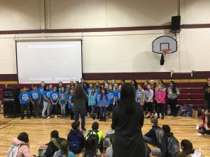 Circle of the State students perform at Southwest Elementary
