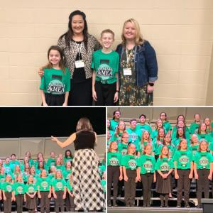 Two students from CPS participated in All State Children's Chorus. 2019