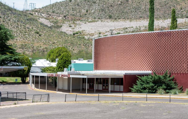 Landscape View facing Bisbee High School