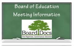 BUSD Board Agendas