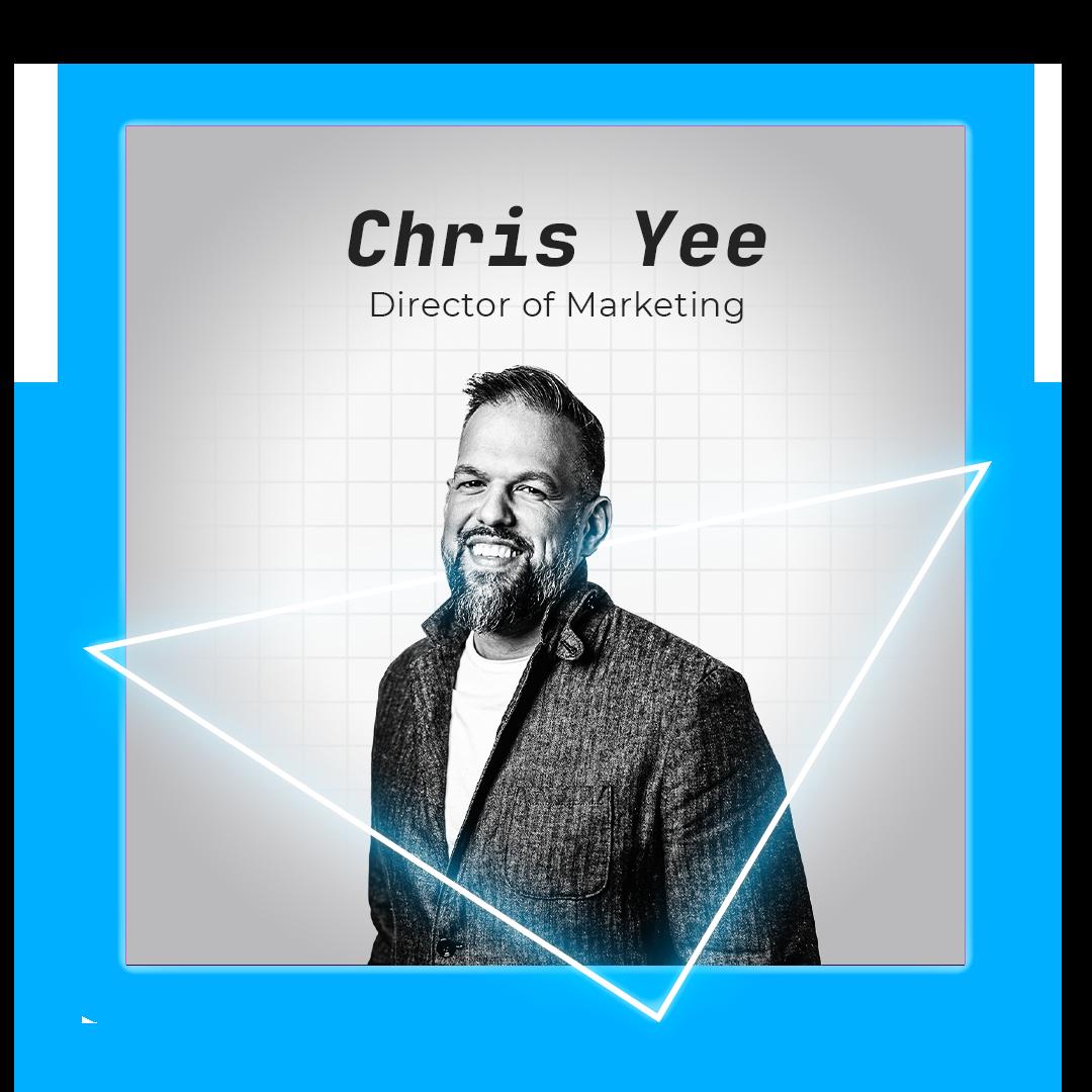 Chris Yee Director of Marketing