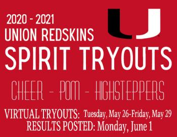 2020-2021 Union Spirit Tryouts