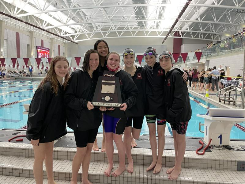 Girls State Runner-Up in 6A Swimming!