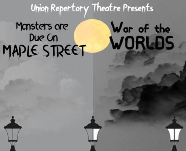 New Poster for Union Repertory Theatre's Double-Feature on Oct. 6