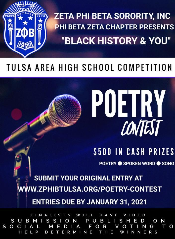 Poetry Contest for High School Students