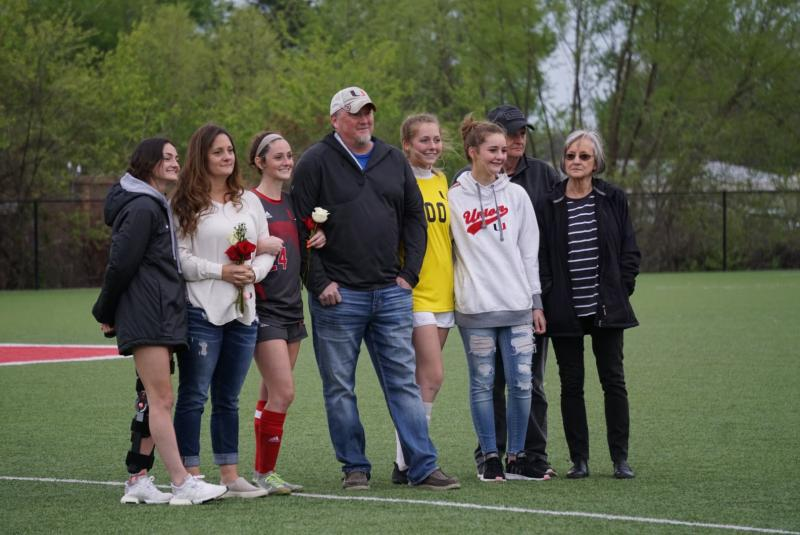 Both Union Soccer Teams Win During Senior Night