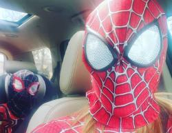 Spidey Goes to the Carwash