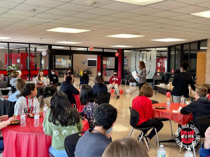 Freshmen Learn About Ivy League Opportunities