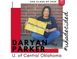 #UHSdecided: Daryan Parker