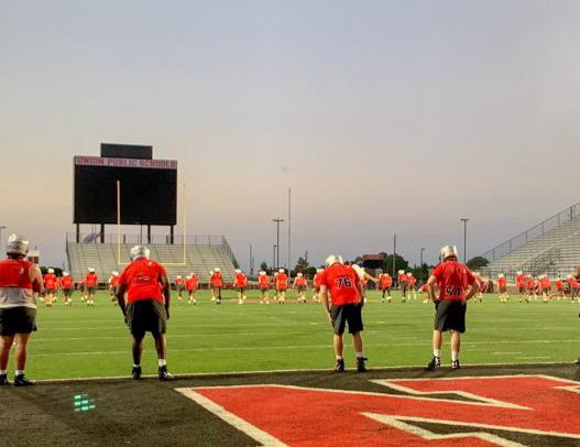 Union Football: Storms Make Us Stronger
