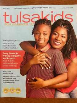 Rosa Parks On Cover of TulsaKids Magazine