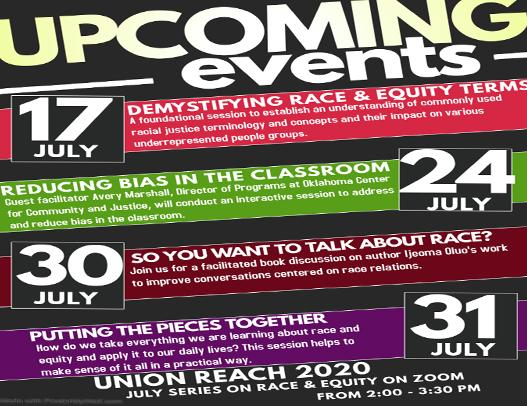 July Series on Race & Equity