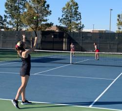 JV Tennis Wins Over Rejoice Christian
