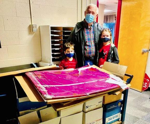 Peters Elementary Receives Donation of Copy Paper