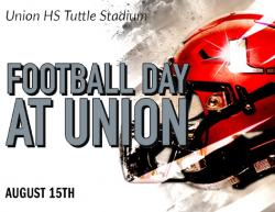 Football Day at Union Planned Aug. 15