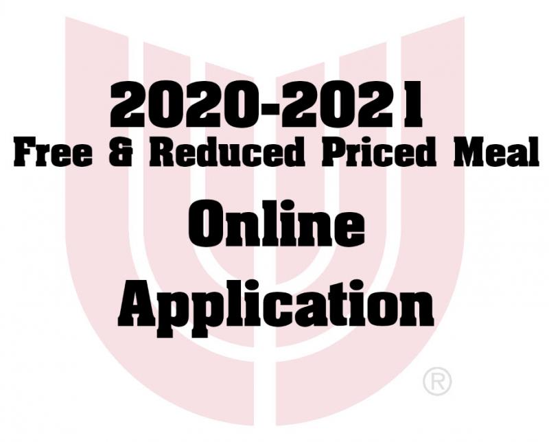 Apply Now for Free & Reduced Price Meals Online for In-Person & Virtual Learning