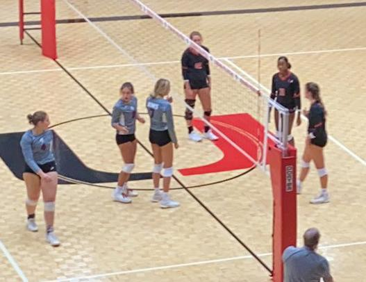 Dink, Dig, Set, Spike!! The Ladies of Union Volleyball hit the Court