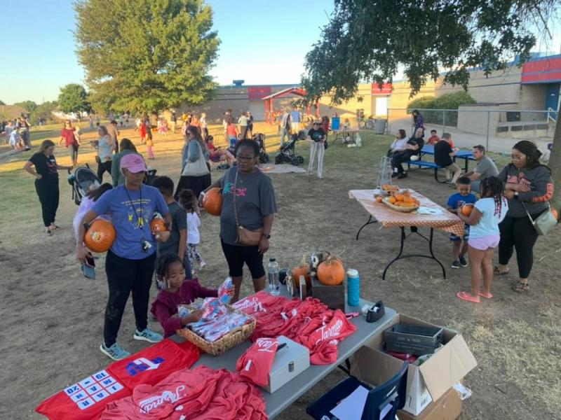 Jarman Families Come For The Pumpkins