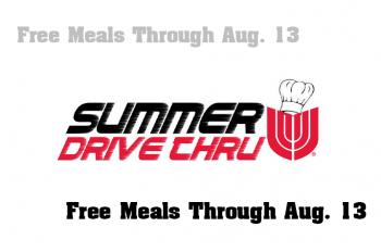 Free Meals for All Kids Through Aug. 13
