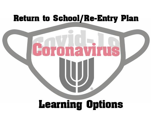 Parents May Choose 1 of 2 Learning Options for 2020-2021