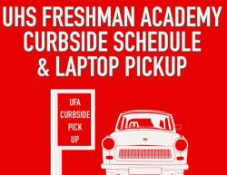 Freshman Curbside Schedule Pickup Set Aug. 13-14