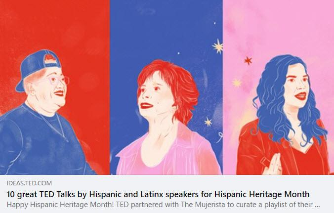 TED Talks by Latinx Speakers