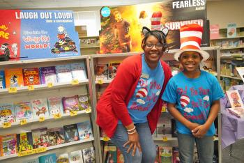 How Does Boevers Celebrate Read Across America?