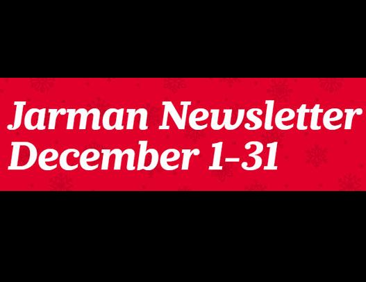 Jarman Newsletter Posted