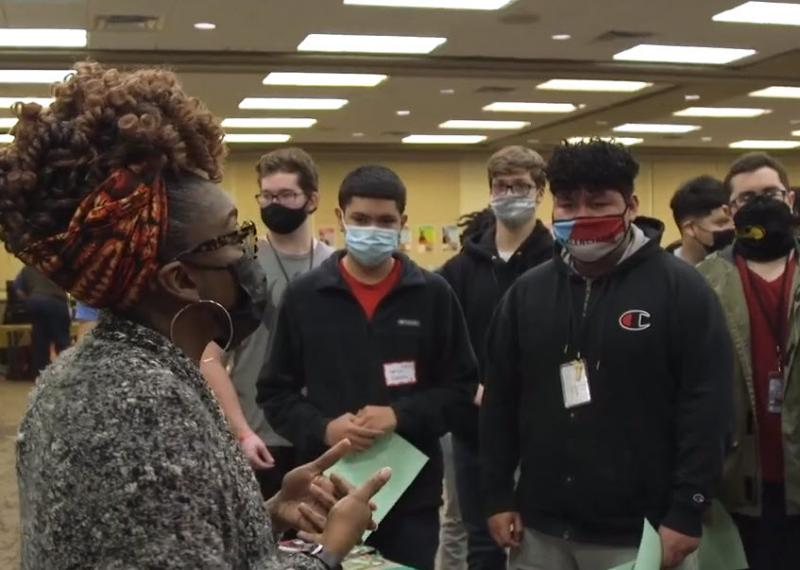 Video: High School Black History Fair