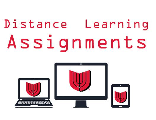 At-Home Assignments for April 6-10