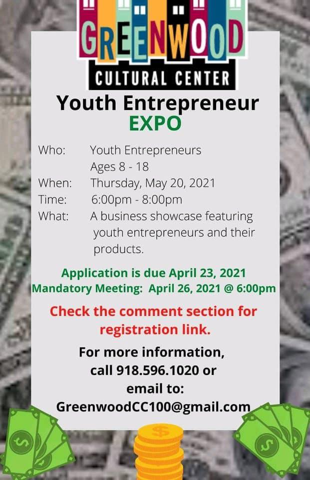 Youth Entrepreneur Expo Set May 20