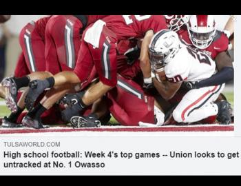 Union looks to get untracked at No. 1 Owasso