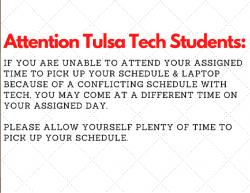 Attention Tulsa Tech Students